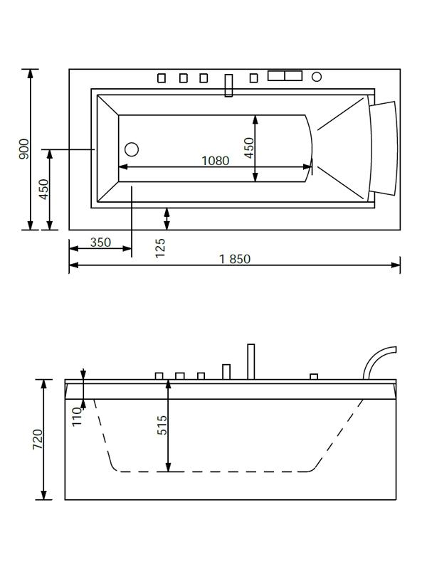 Desen tehnic cada Nera