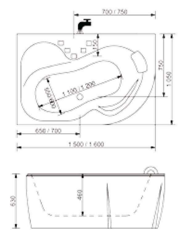Desen tehnic cada Sepia