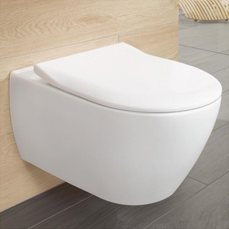 Capac slim, soft close, pentru vas WC Subway