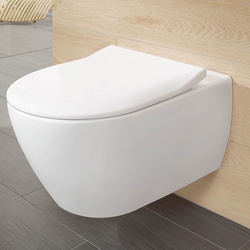 Capac slim, soft close, pentru vas WC Subway 2.0