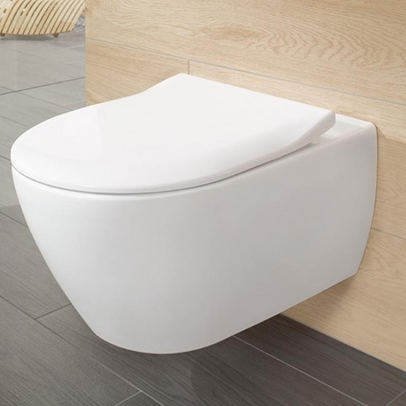 Capac slim, soft close, pentru vas WC Subway 2.0