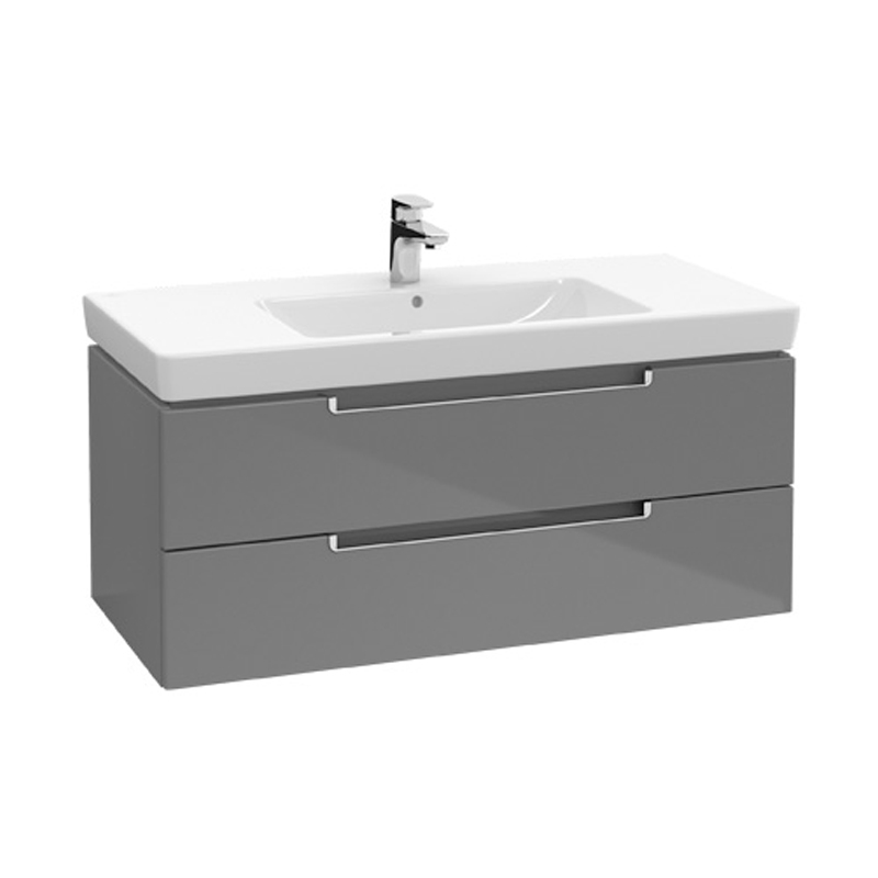 Lavoar pentru mobilier, 100 x 47 cm, alb alpin, Subway 2.0