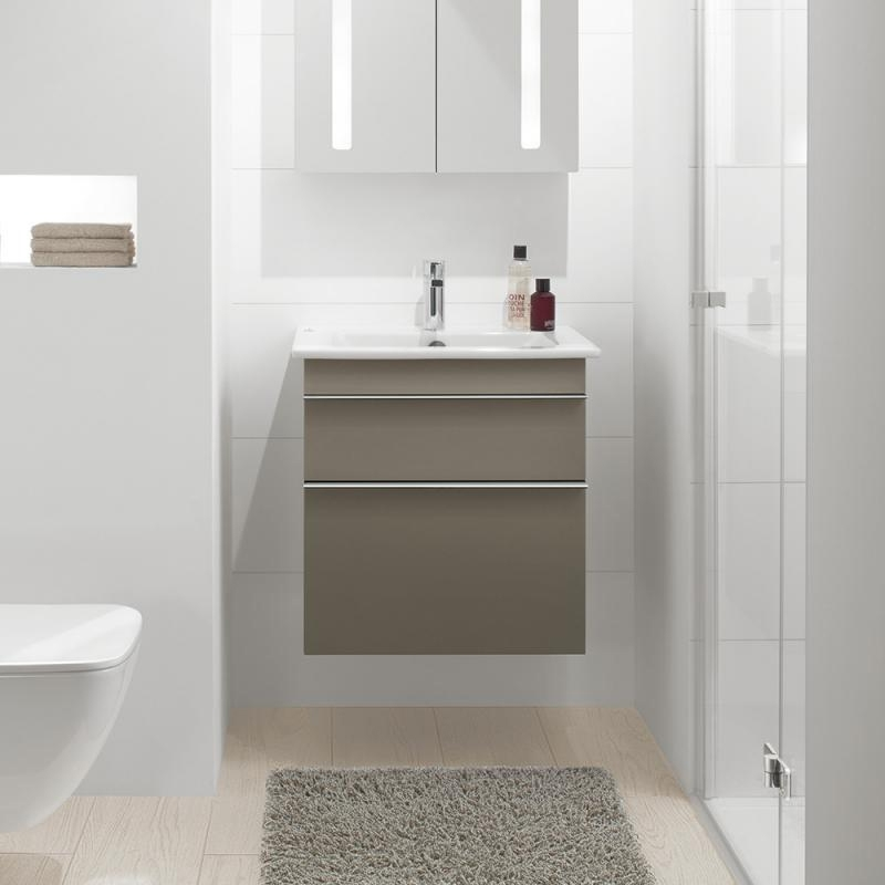 Lavoar suspendat, dreptunghiular, 60 cm, alb alpin, Venticello