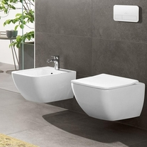 Capac vas WC, soft close, alb, Venticello
