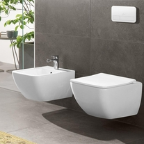 Vas WC suspendat, direct flush, alb alpin, Venticello