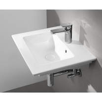 Lavoar Villeroy & Boch, Venticello, suspendat, dreptunghiular, 60 cm, alb alpin