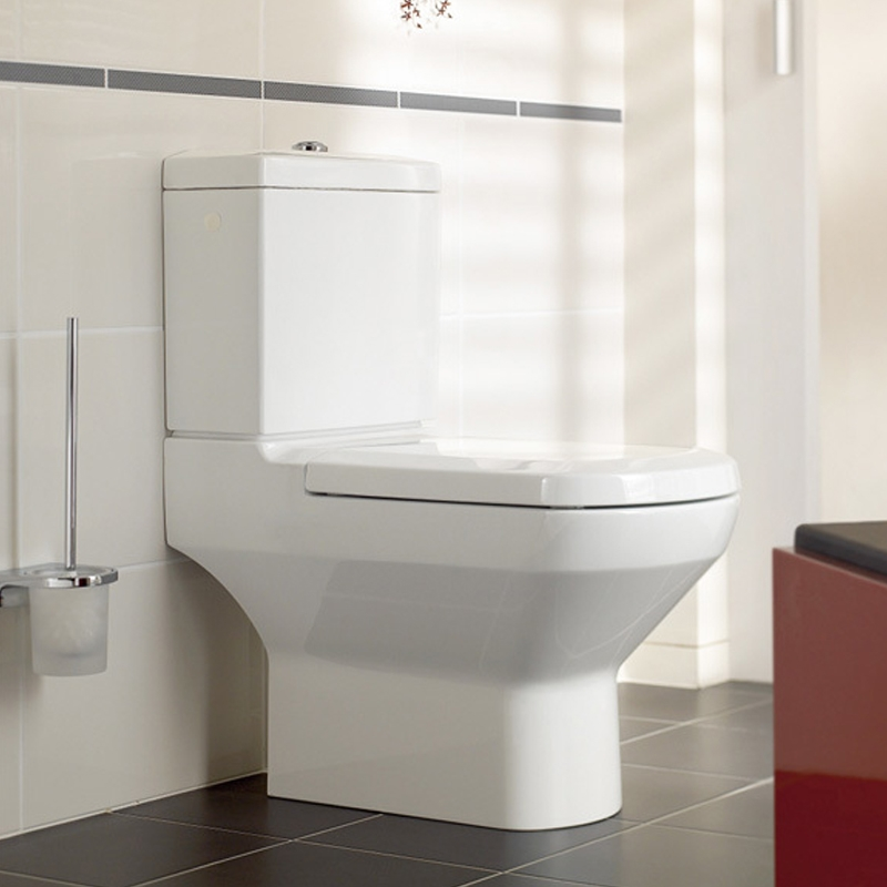 Capac WC, soft close, alb, Sentique