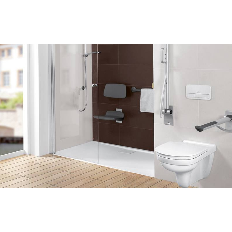 Vas WC suspendat, direct flush, alb alpin, O.Novo Vita