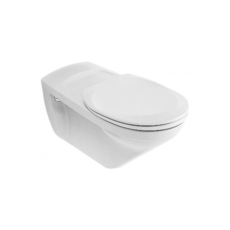 Capac vas WC, alb, O. Novo