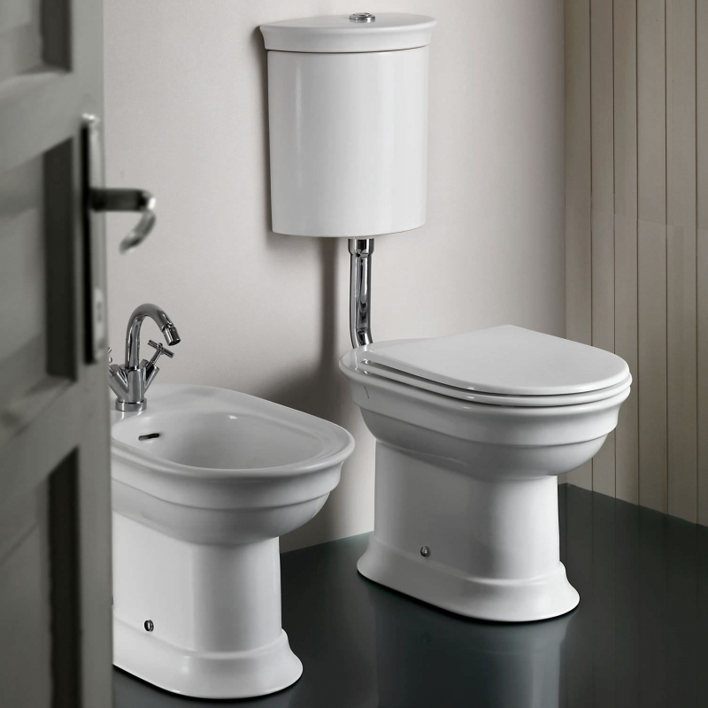 Hatria, Dolcevita, capac WC cu amortizare, alb