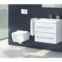 Clapeta Villeroy & Boch, ViConnect, actionare dubla, 20 x 14 x 5 cm, alb