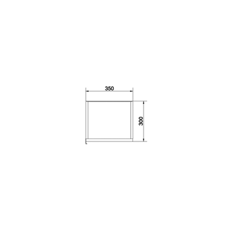 Dulap coloana Cersanit, Stillo, 140 cm, front gri + lateral alb