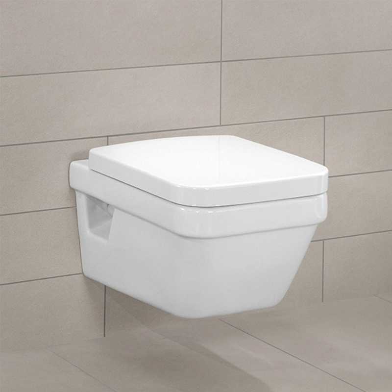 Vas WC suspendat, direct flush, alb, Architectura