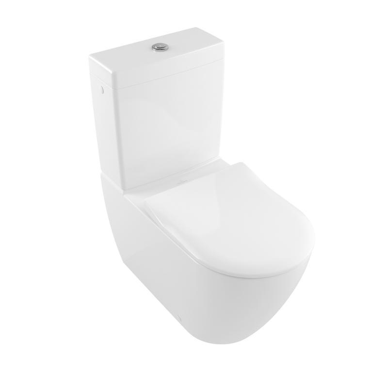 Rezervor monobloc pentru vas WC compact, Subway 2.0