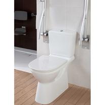 Vas WC monobloc, stativ, alb alpin, O.Novo Vita