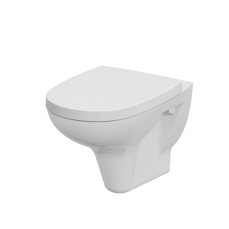 Capac WC Cersanit, Arteco, antibacterian, duroplast, alb