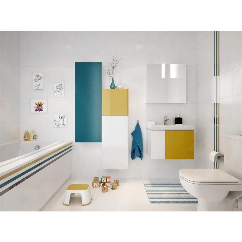 Dulap inalt, suspendat, 120 x 40, alb, Colour