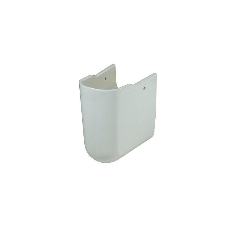 Set lavoar dreptunghiular + aparator sifon, alb, Omnia Arhitectura