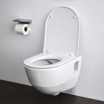 Capac WC antibacterian, alb, Pro P