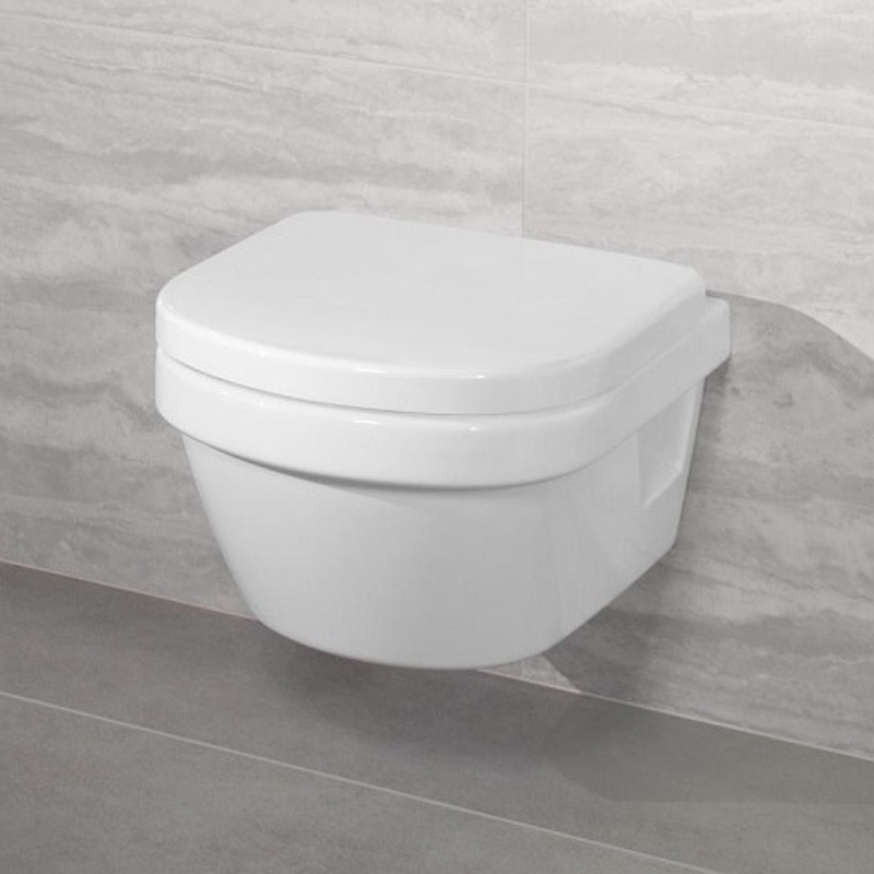 Vas WC suspendat XL, direct flush, alb alpin, Arhitectura