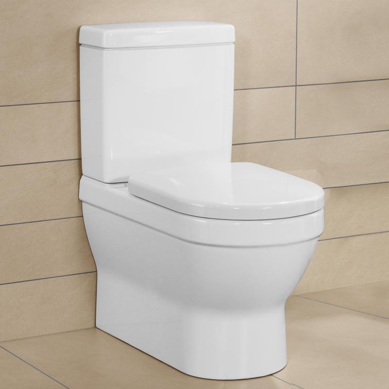 Vas WC stativ, rotund, alb, Arhitectura