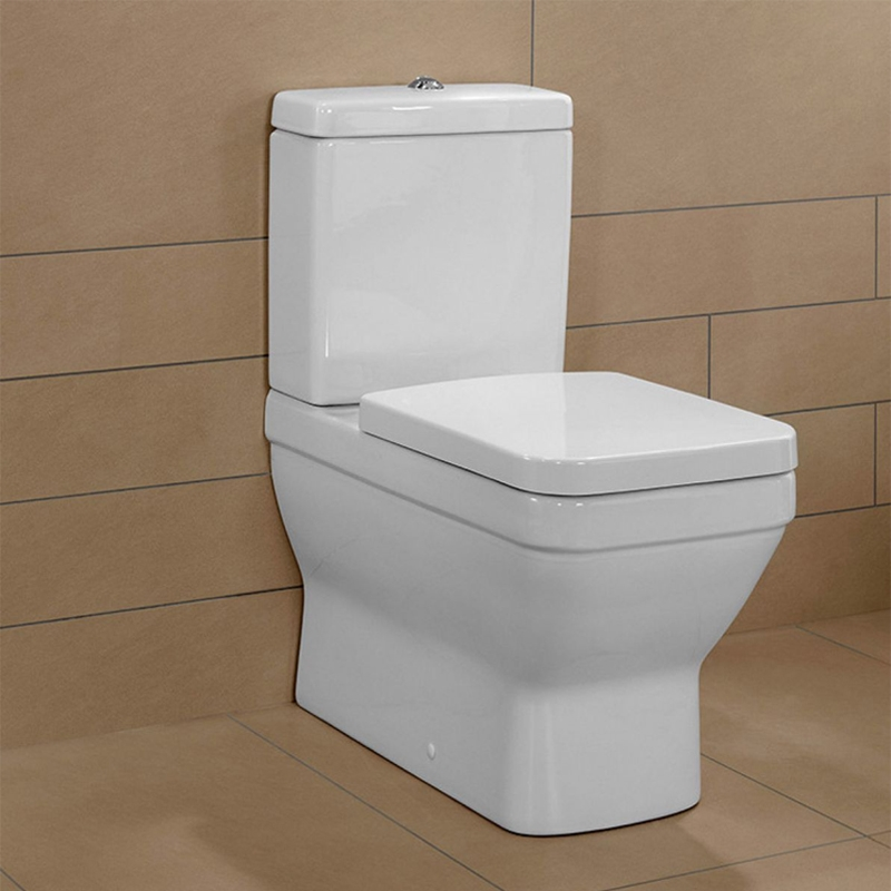 Rezervor monobloc pentru vas WC compact, Architecura