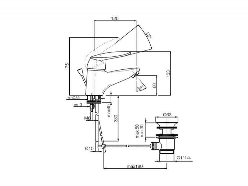 Desen tehnic baterie bideu, SERIA 2