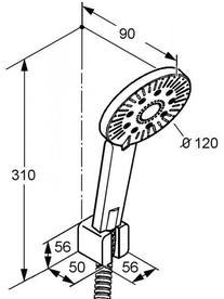 Desen tehnic set dus, A-QA