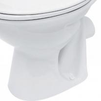 Capac WC Cersanit, President, compact, din polipropilena, alb
