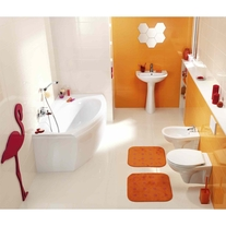 President bathroom design, Cersanit