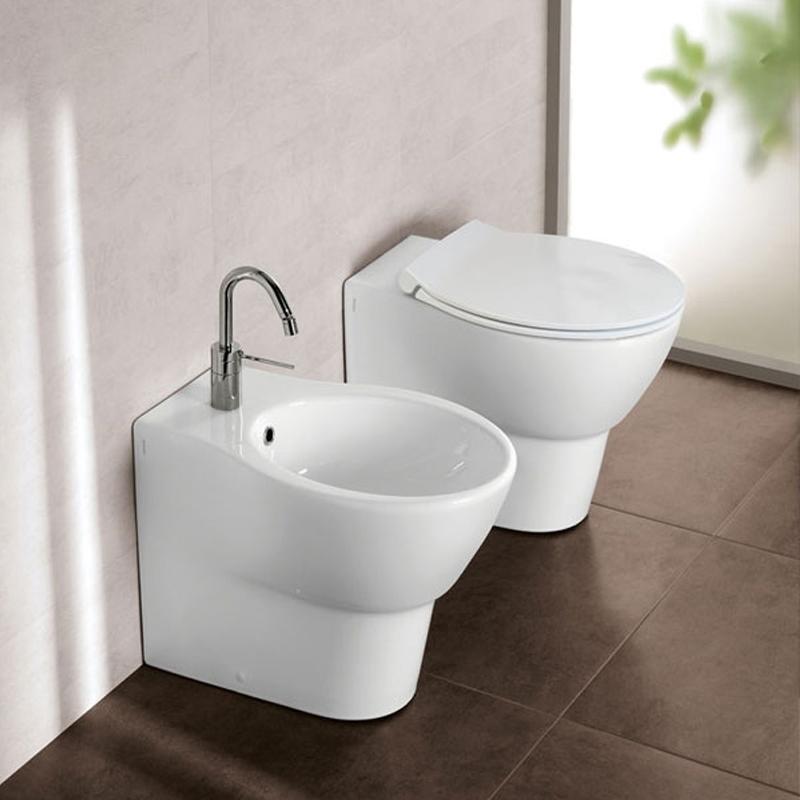 Vas WC stativ Hatria, Nido, rectificat, alb