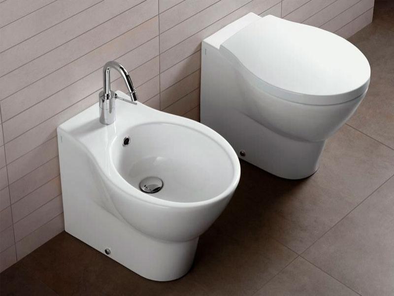 Vas WC si bideu stativ, NIDO
