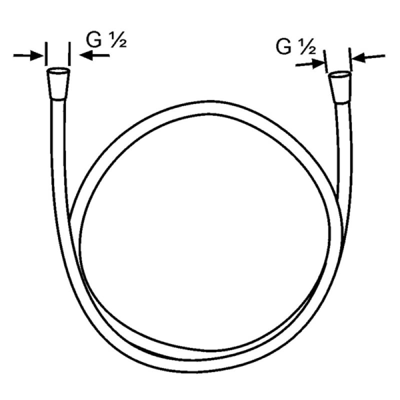 Desen tehnic, furtun dus Sirenaflex, Kludi