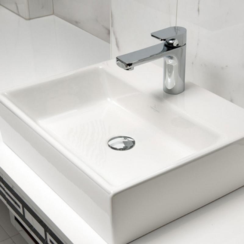 Lavoar suspendat, 80 cm, alb star, Memento