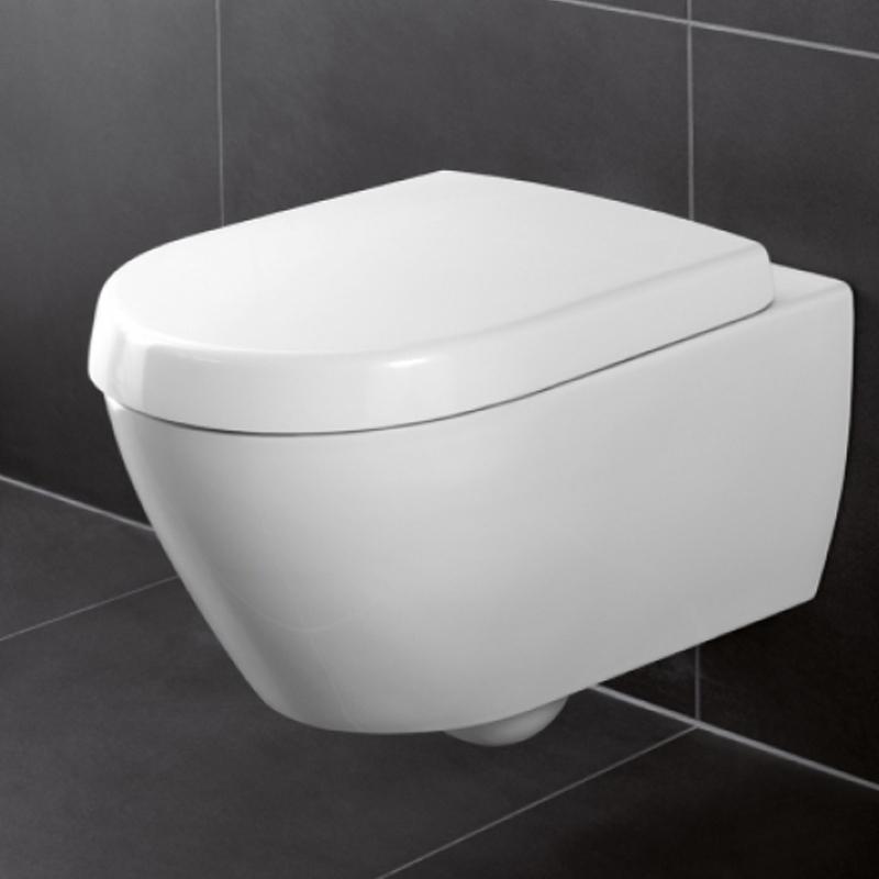 Vas WC, suspendat, alb star CeramicPlus, Subway 2.0