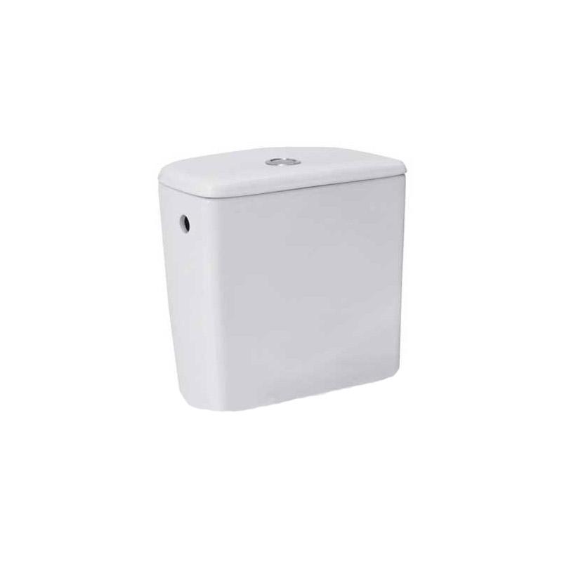 Set vas WC stativ Cersanit, Roma New, evacuare verticala, cu rezervor si capac inclus