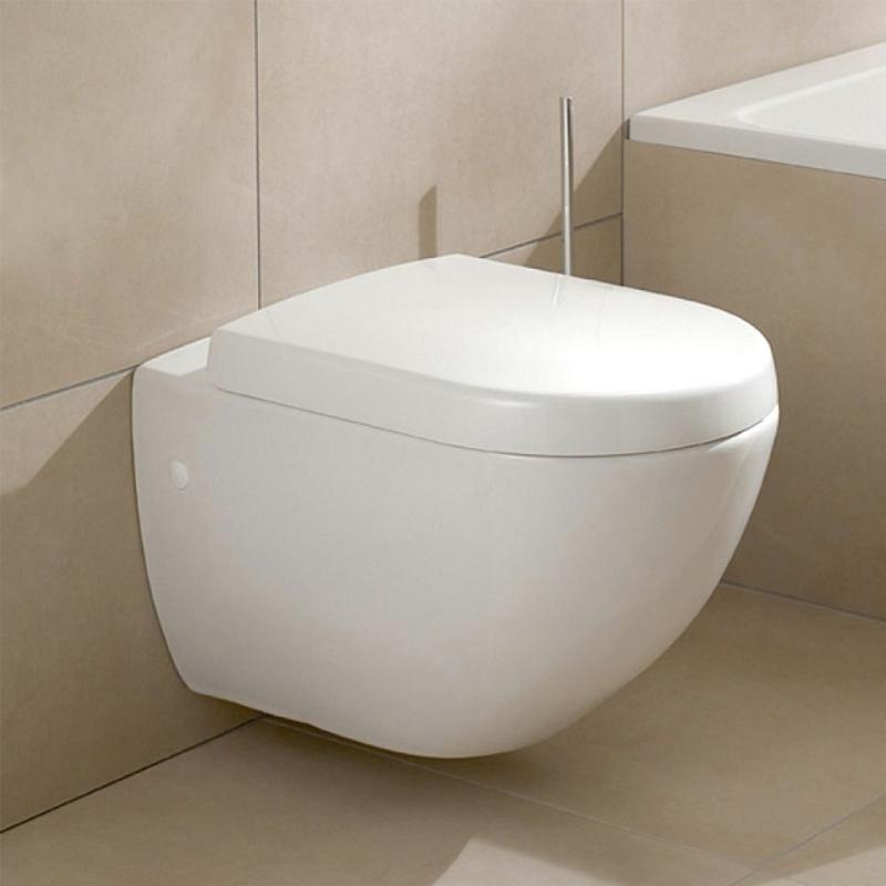 Capac vas WC, soft close, alb, Subway 2.0