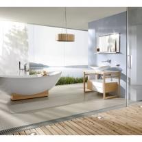 Lavoar pe blat Villeroy & Boch, My Nature,  81 cm, alb, CeramicPLus