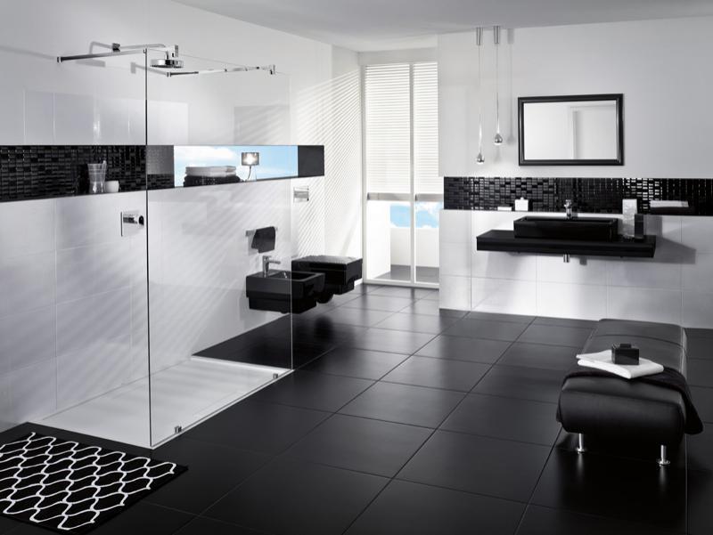Ambient sanitare Glossy Black