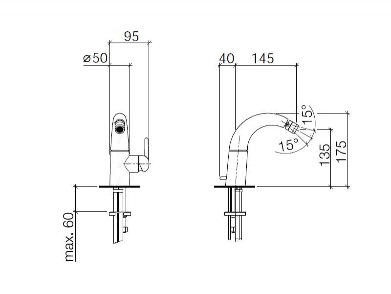 Desen Tehnic, Baterie bideu, crom, Source