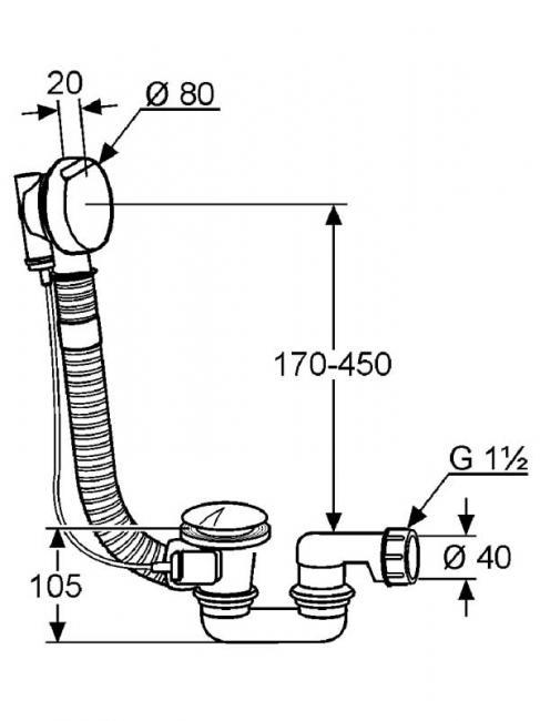 Desen tehnic garnitura de scurgere, ROTEXA