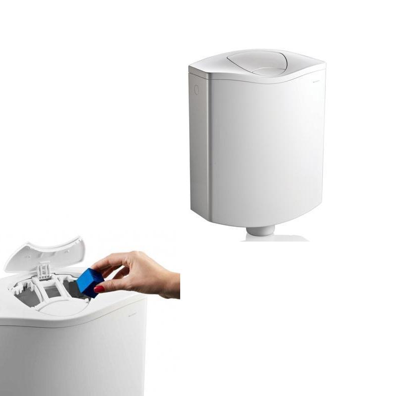 Rezervor WC Geberit AP116PLUS cu compartiment pentru odorizant pastila