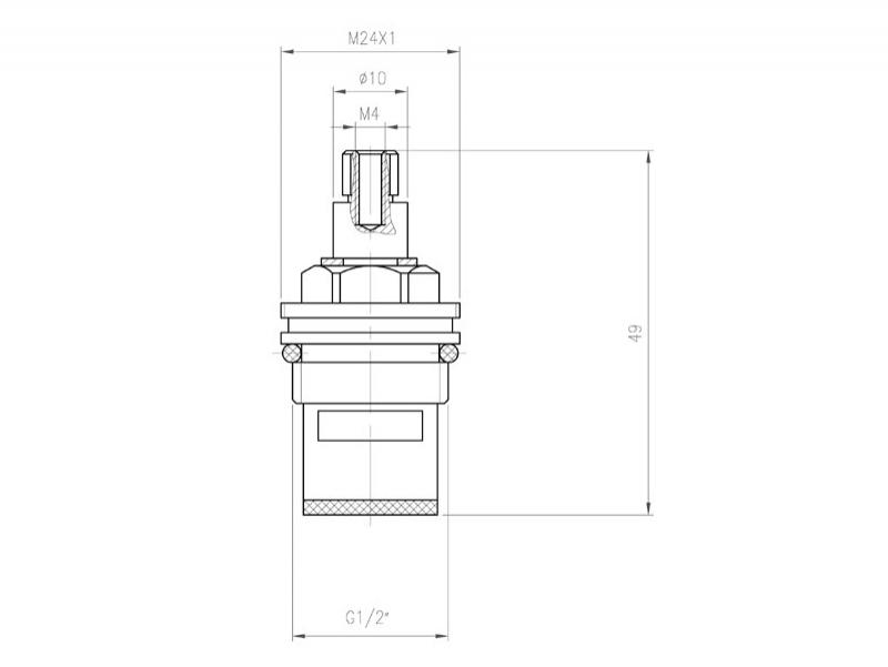 Desen tehnic, CARTUS-CERAMIC-PT-BATERIE-CU-DOUA-MANERE-G05