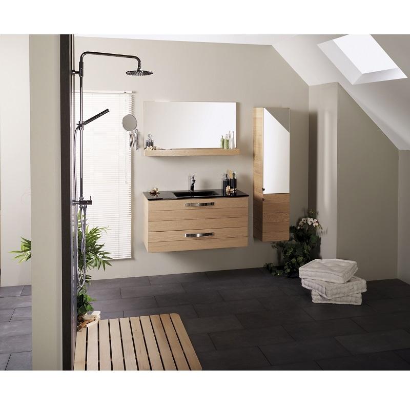 Lavoar Oslo/Porto, pentru mobilier Oslo/Porto, negru, 101 cm