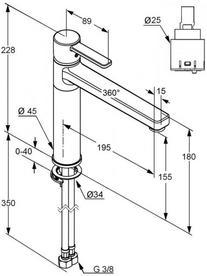 Desen tehnic baterie Zenta