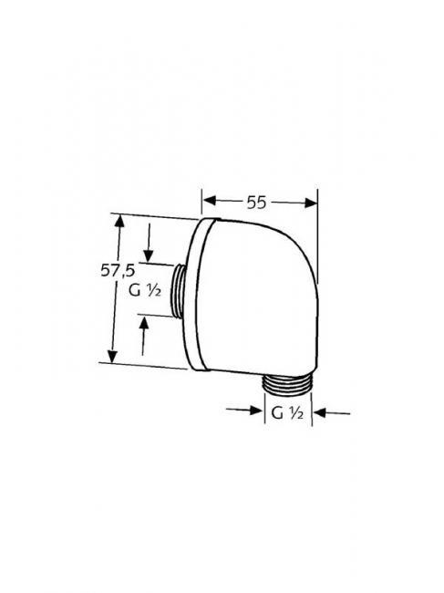 Desen tehnic cot racord