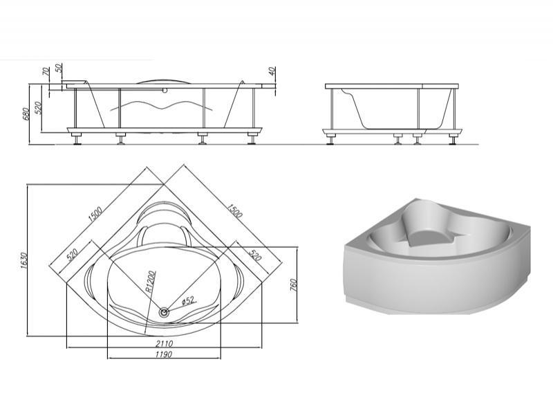 Desen Tehnic Cadru de rigidizare și panou frontal