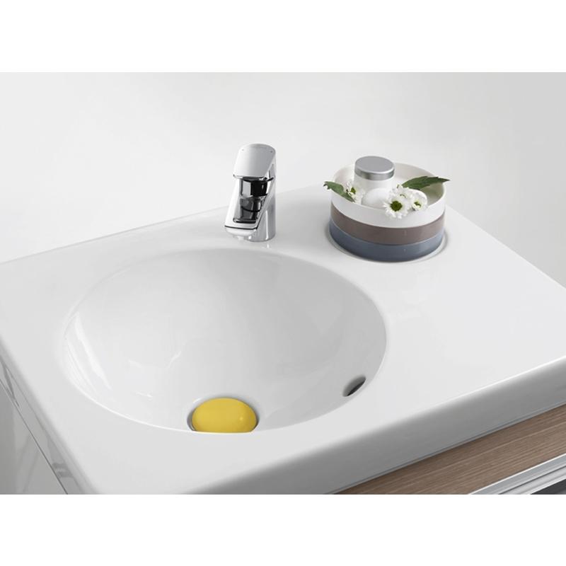 Lavoar suspendat, 65 cm, alb alpin, Joyce