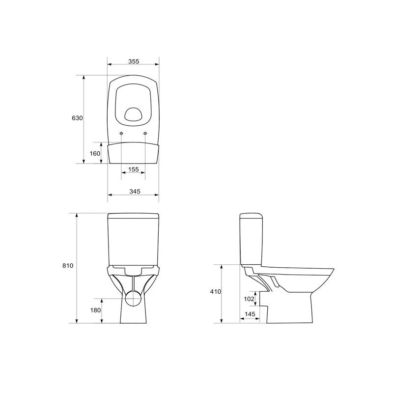Vas WC 011, schita, Carina