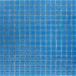 Mozaic de sticla, albastru, Albarello, 32,5 cm